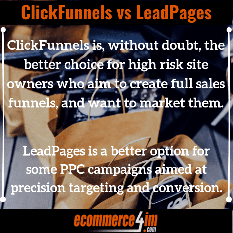 ClickFunnels vs LeadPages - EC4IM - Quote Image