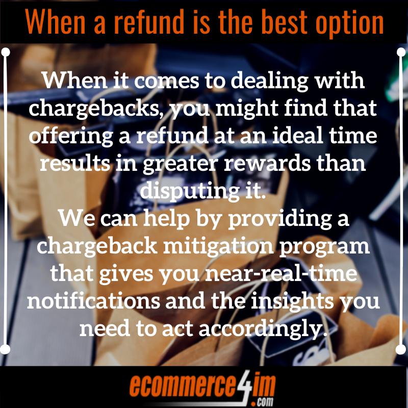 EC4IM - When a refund is the best option - Infographic